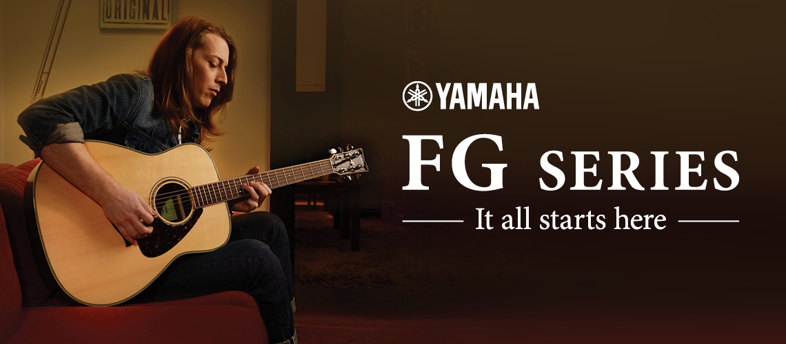 Yamaha - FG Series - It all starts here